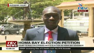 Supreme court to rule on Cyprian Awiti's election as Homa Bay governor