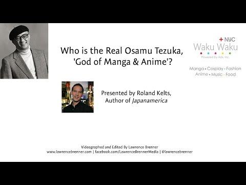 Who is the Real Osamu Tezuka,  'God of Manga & Anime'? at Waku Waku NYC 2015