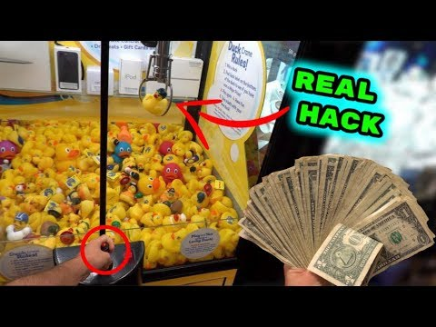 This Claw Machine HACK ACTUALLY WORKS!!
