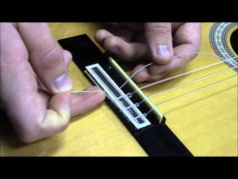 how-to-restring-a-classical-guitar