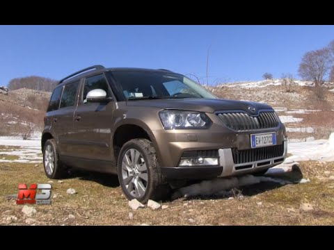 new skoda yeti 4x4 outdoor 2015 first offroad test drive youtube. Black Bedroom Furniture Sets. Home Design Ideas