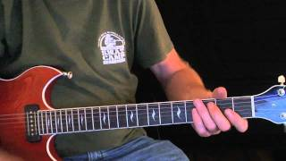 "How to Play ""Stormy Monday"" - Blues Guitar Lesson - Bar Room Blues Songs"
