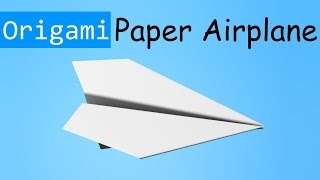 Origami Plane 3d Hd #2