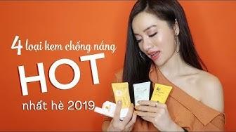 Review 4 Loại Kem Chống Nắng HOT Nhất Hè 2019 - Miss B by Tracy Trinh