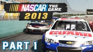 NASCAR THE GAME: 2013 Part 1 - Crashkurs (FullHD) / Lets Play Nascar The Game