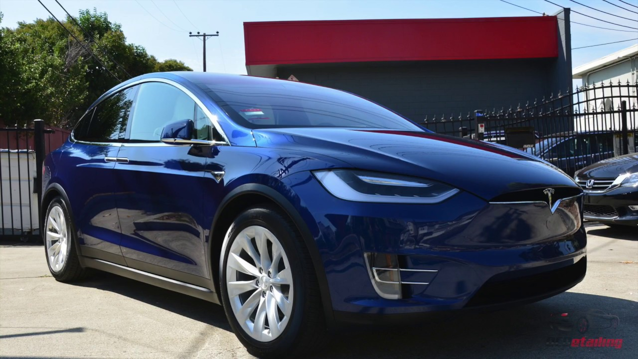 2018 tesla model x 100d deep blue metallic cquartz finest reserve youtube. Black Bedroom Furniture Sets. Home Design Ideas