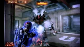 Mass Effect 2 - Submachine gun charging Vanguard