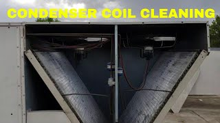 Condenser coil cleaning