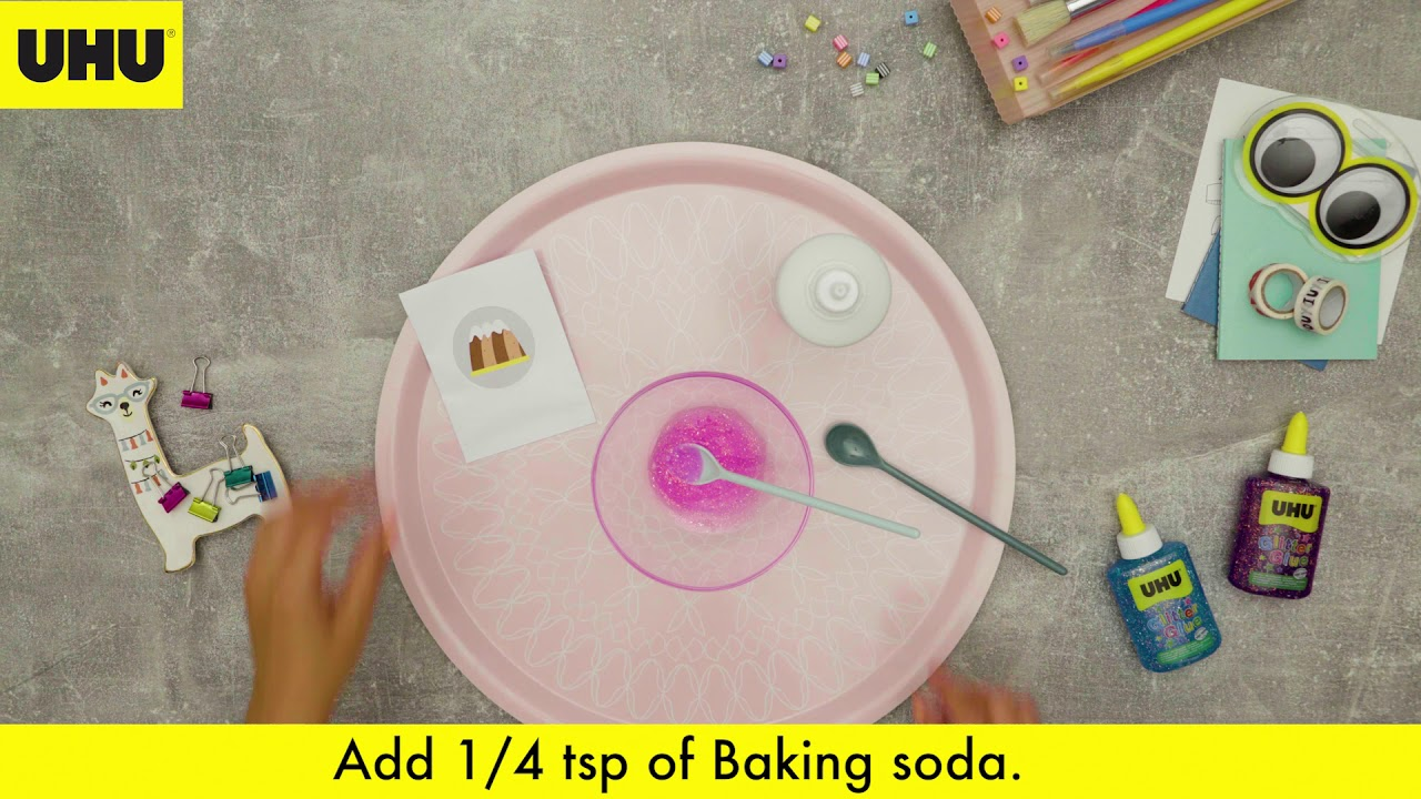 Create your own spacy galaxy slime