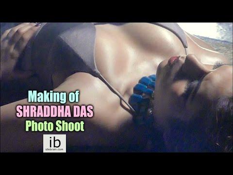 Making of Shraddha Das Hot Photo Shoot - idlebrain.com