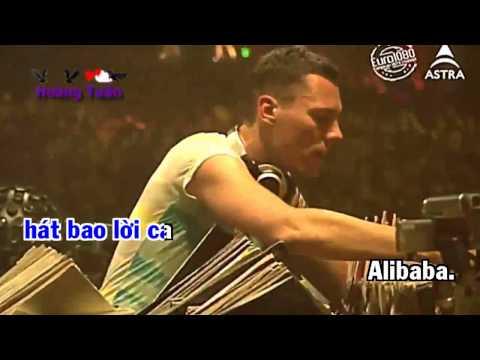 Karaoke HD Alibaba Remix   Đinh Kiến Phong full Beat