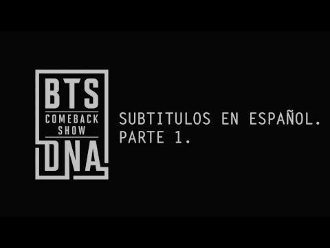[SUB ESP] Mnet COMEBACK SHOW BTS DNA (Parte 1)
