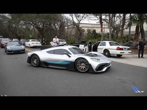 MERCEDES AMG PROJECT ONE DRIVING IN AMERICA!