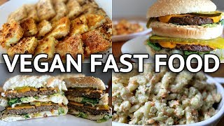 EASY  VEGAN FAST FOOD RECIPES (VEGAN BIG MAC!!)
