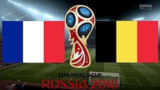 FRANKREICH vs. BELGIEN | WM 2018 HALBFINALE