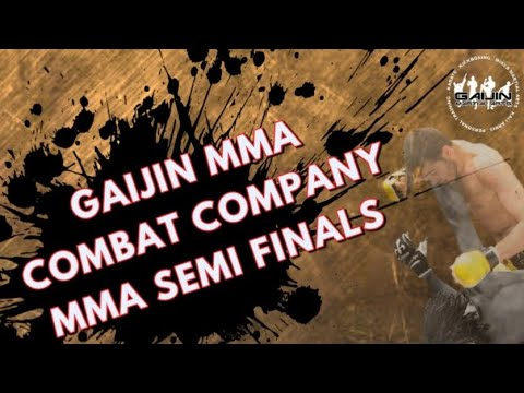 Gaijin MMA Hasan Damdelen Semi final fight