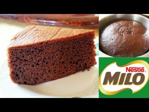 resepi-kek-milo-kukus-mudah-dan-sedap-ikut-sukatan-cawan-|-tanpa-oven-dan-mixer