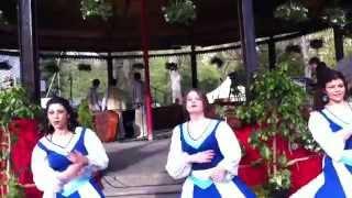 grupul de dansuri israeliene hora in cismigiu 2012
