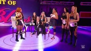 Becky Lynch Alexa Bliss Nikki Cross Vs Lacey Evans The IIconics WWE Raw 20 05 2019 Español