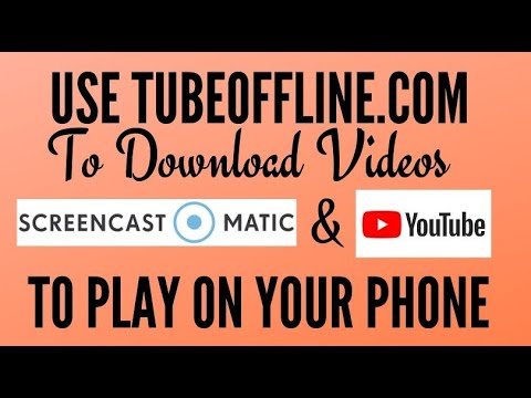 How to Download Screencast and YouTube Videos to Watch Offline Using TubeOffline.com