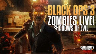 Black Ops 3 Zombies: First Time Shadows of Evil w/ Kross