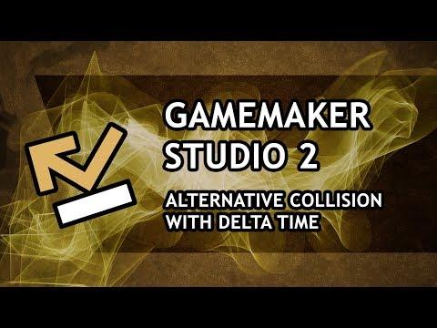 GameMaker Studio 2 Tutorial [ADVANCED] - Alternative collision with Delta Time - [Episode #3]