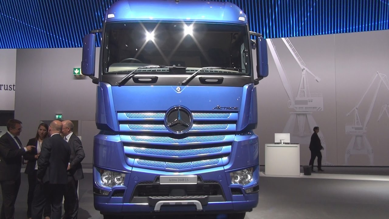 Mercedes Benz Actros 2648 Ls 6x4 Tractor Truck 2017 Exterior And