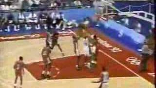 USA Dream Team v Angola 1992 Olympics