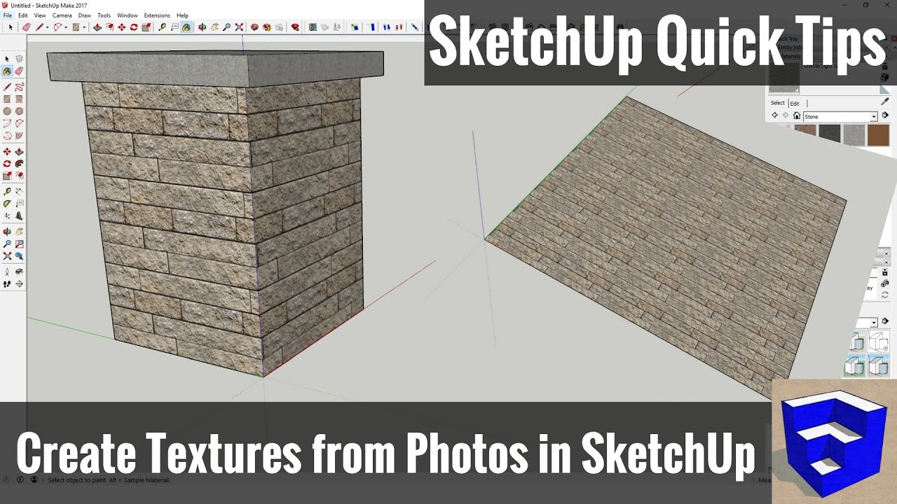 textures sketchup