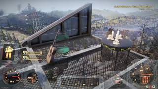 Fallout 76 sweet monorail camp build