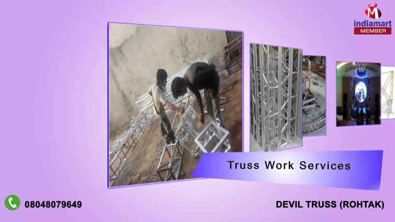 Aluminum and Lighting Truss By Devil Truss, Rohtak