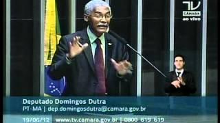 Deputado Domingos Dutra (PT - MA) faz denúncias contra o Senador José Sarney