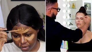 Black Girl Tried Following a Scott Barnes & Tati Makeup Tutorial AndI learned some great things!
