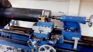 Heavy Duty Haft Turning : Lathe Machine