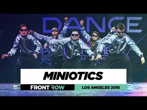 Miniotics | FrontRow | World of Dance Los Angeles 2018 | #WODLA18