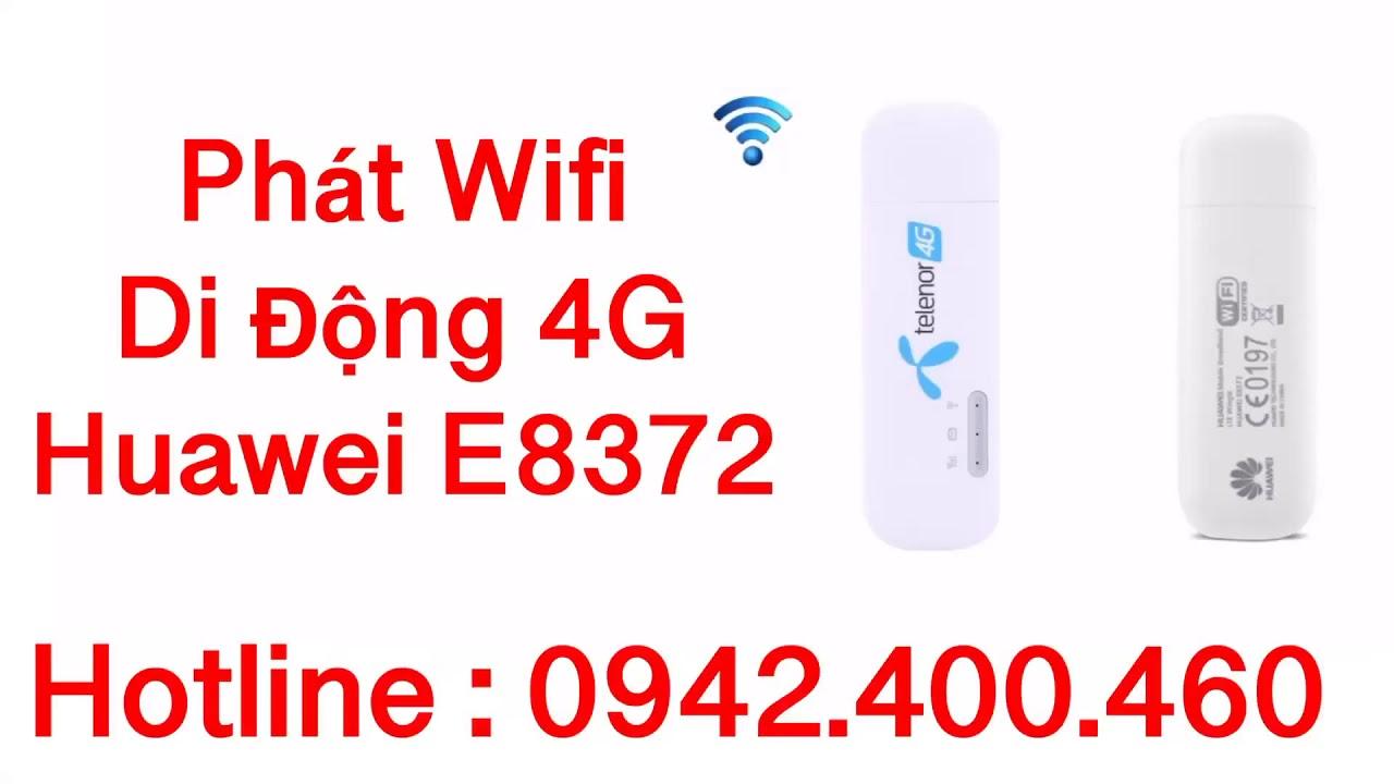 Bán usb phát wifi 4G huawei e8372 tại Thủ Dầu Một Bình Dương giao hàng toàn  quốc