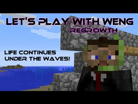 MineCraft | Regrowth | E04 | Life Continues Under the Waves