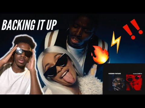 (VIDEO REACTION) Pardison Fontaine – Backin' It Up (feat Cardi B) (Audio & Visual) [Official Video]