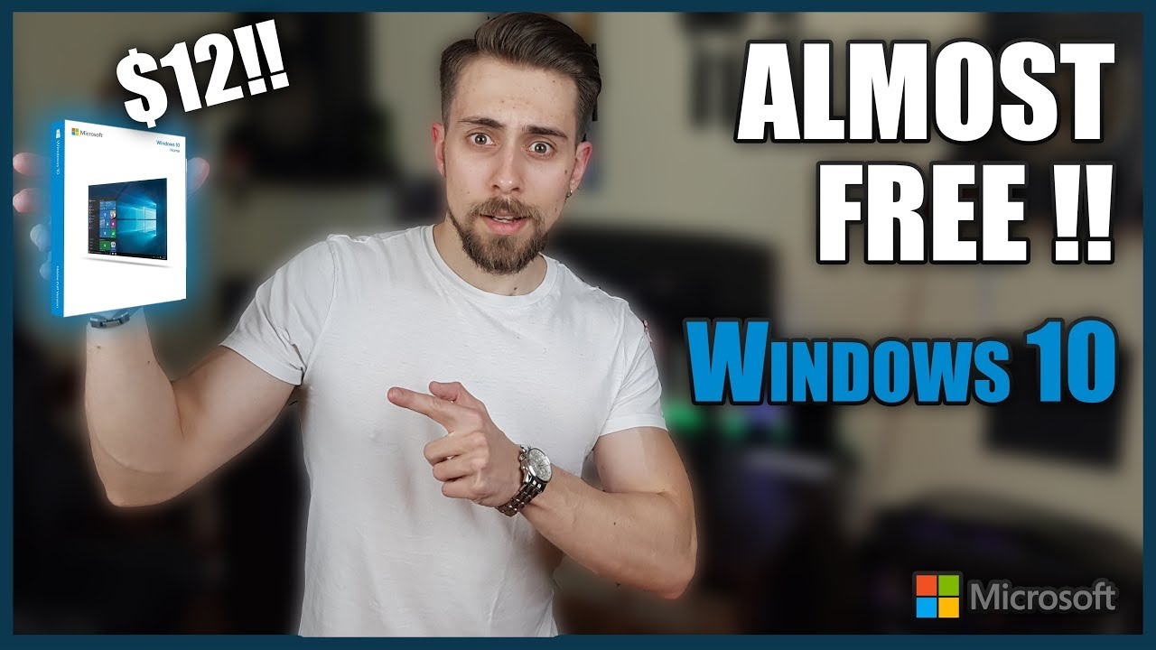 ALMOST FREE WINDOWS 10 Serial KEY! ($12) | How to Buy ...