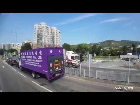 Hong Kong Bus LWB 5505 @ A37 洪水橋 (洪元路) - 機場 (地面運輸中心)