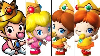 The Evolution of Baby Peach and Baby Daisy (2005-2017)