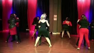 Bachata Dance Performance Challenge at Valentines Show 2018