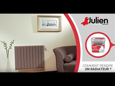 comment peindre un radiateur avec les peintures julien youtube. Black Bedroom Furniture Sets. Home Design Ideas