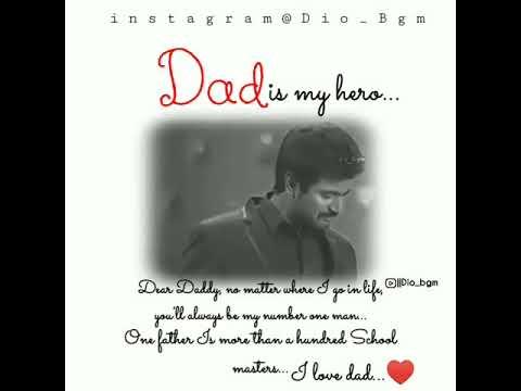 Dad is my hero 👨 Miss you dad   Fling 😔 whatsapp status Tamil