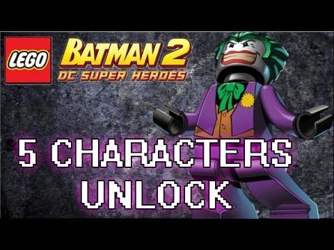 LEGO Batman 2 : DC Super Heroes Bonus Episode #6 - Joker, Bane , Killer Moth & More