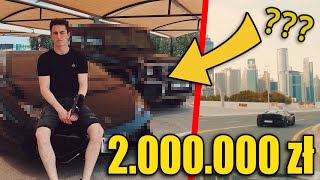 DOSTAŁEM AUTA ZA 2.000.000 zł W DUBAJU!