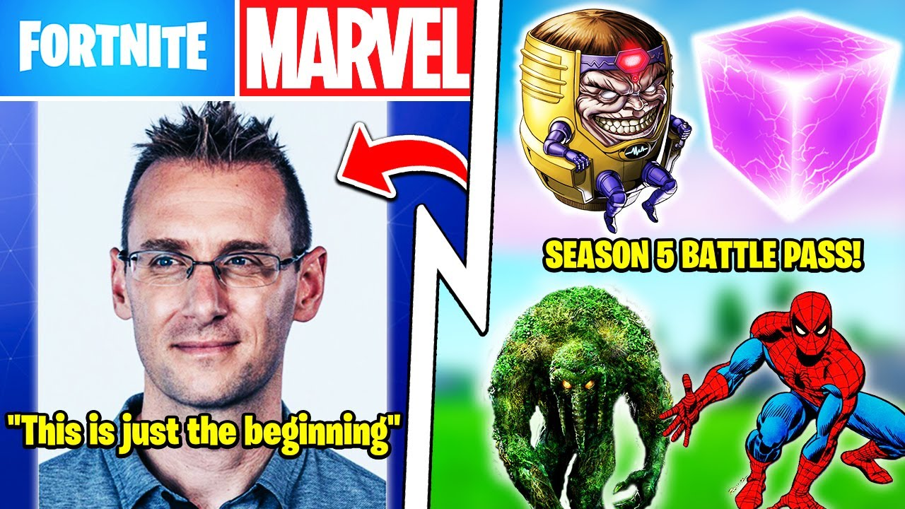 Epic CEO Confirms More Marvel Seasons, Season 5 Battle Pass, M.O.D.O.K. Built Cube!
