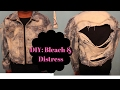 DIY: Bleached & Distressed Jean Jacket- Thrift Store Transformation