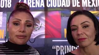 Mariana Juárez y Jackie Nava  hablan para Boxeo de Nocaut Informa