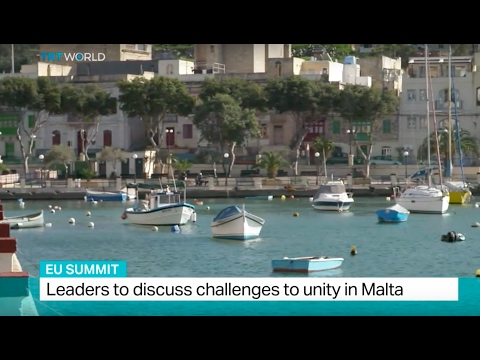 EU Summit: Leaders to discuss challenges to unity in Malta